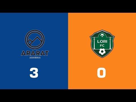 Ararat-Armenia - Lori 3:0, Armenian Premier League 2018/19, Week 28