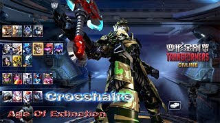 TRANSFORMERS Online 变形金刚 - Crosshairs Age of Extinction Blink Skills Team Fight Gameplay