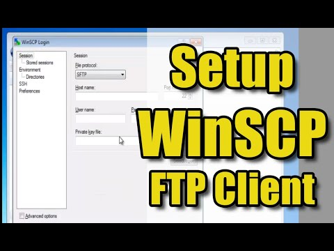 How to Set Up WinSCP - YouTube
