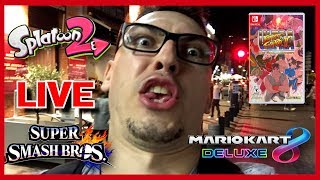 🔴 LIVE : Multi Smash Bros WiiU / SPLATOON 2/USFII/MK8 chez Lilian31 thumbnail