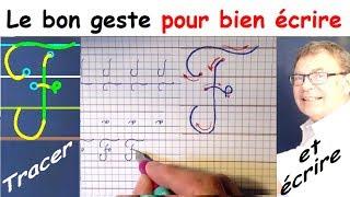 Ecriture cursive français au cp ce1 ce2 : La lettre majuscule F
