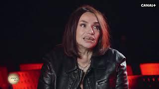 Interview de Béatrice Dalle par Augustin Trapenard - Cannes 2019