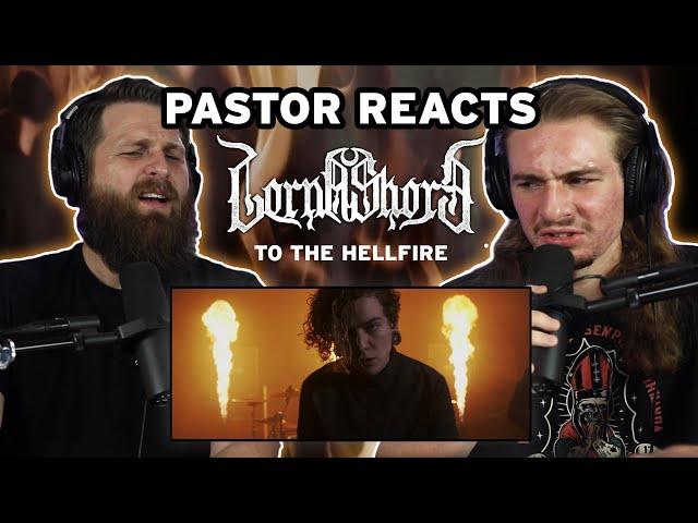 Lorna Shore TO THE HELLFIRE // Pastor Rob Reaction and Lyric Analysis // Lyric video