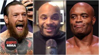 Daniel Cormier calls McGregor vs. Silva a bigger fight than Jones vs. Ngannou | DC & Helwani