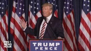 Watch Donald Trump's full speech on defense spending