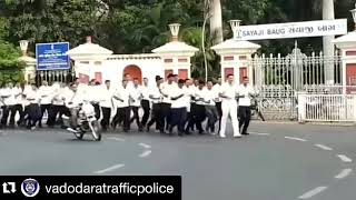 વડોદરા શહેર પોલીસ દ્રારા સરદાર વલ્લભભાઇ પટેલની જન્મ જયંતી નિમિત્તે રન ફોર