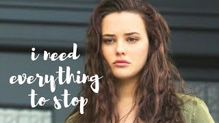 """Hannah Baker - """"I Need Everything to Stop"""" 13 Reasons Why"""