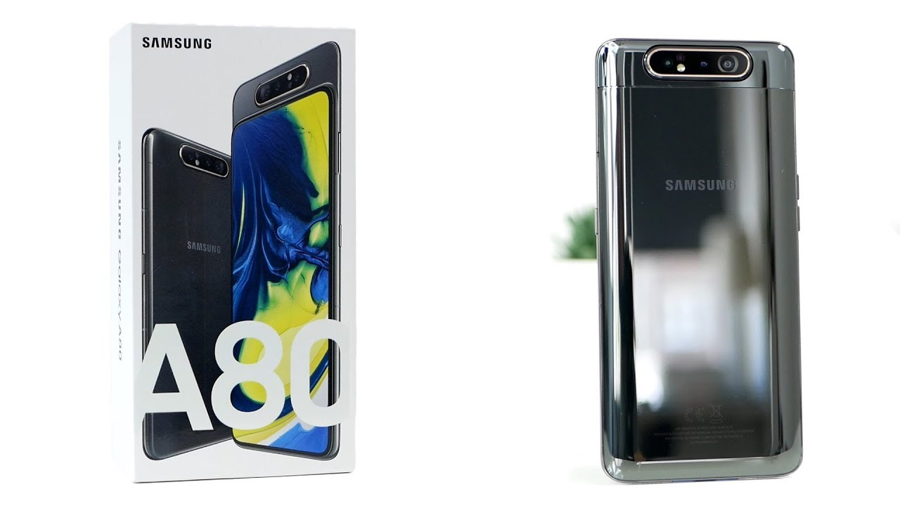 Samsung Galaxy A80 unboxing and hands on
