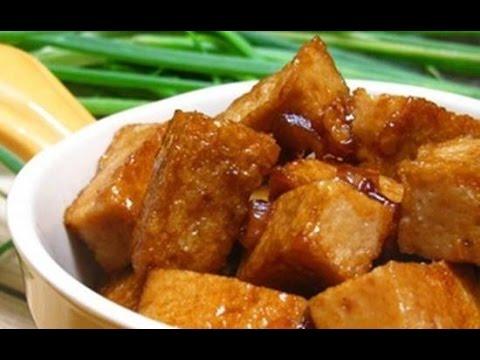 Giò Lụa Kho Đậm Đà Thơm Ngon Ăn Là Ghiền - YouTube