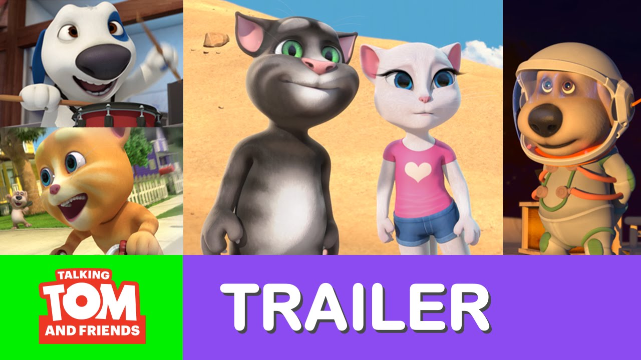 Talking Tom And Friends New Episodes Teaser Trailer Youtube