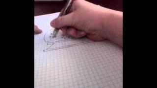 видео Как нарисовать новогодний шарик?