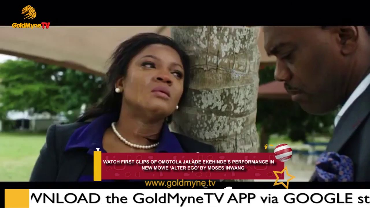 Download WATCH FIRST CLIPS OF OMOTOLA JALADE IN NEW MOVIE 'ALTER EGO'