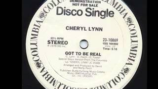 "CHERYL LYNN ""Got to be real"""