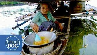 Indonesia. Casas Flotantes | Tribus y Etnias