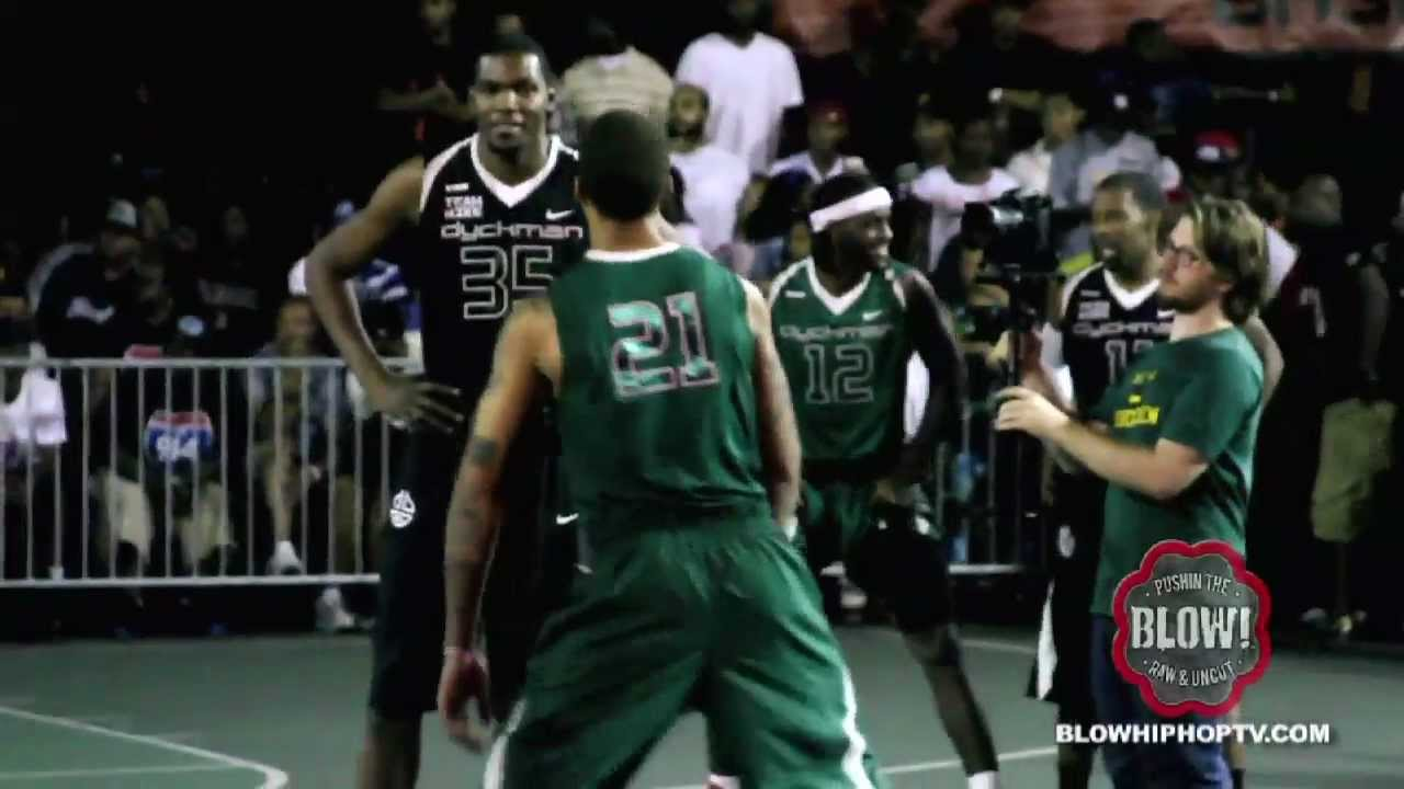 d3d1e06651be TEAM NIKE (KEVIN DURANT) VS. 914 (MIKE BEASLEY)   BLOWHIPHOPTV.COM - YouTube