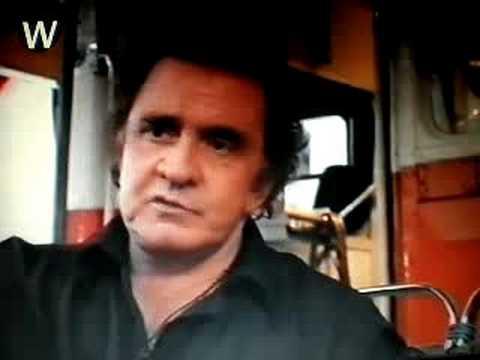 Johnny Cash-Interview Glastonbury-1994
