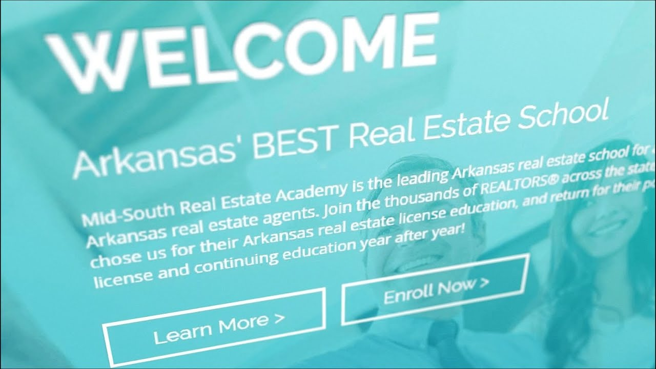 Arkansas' BEST Real Estate School