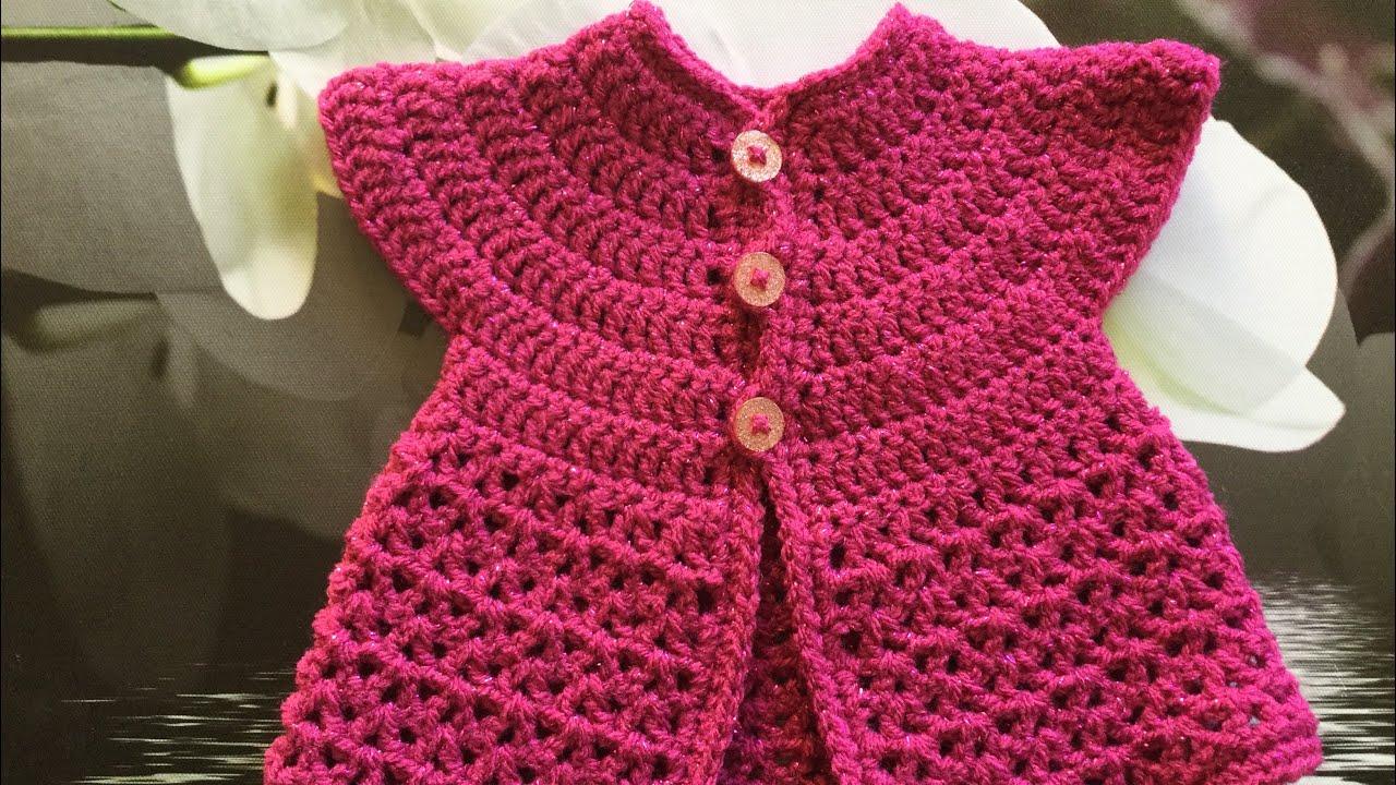 Tuto Crochet Gilet Sans Manches Pour Bébé