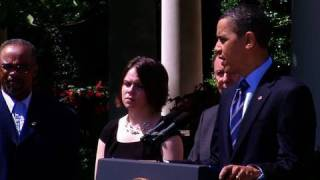 President Obama Makes Statement on Economy and Oil Spill