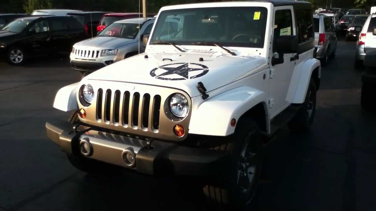 Craig Dennis Exclusive Bright White Jeep Wrangler Freedom