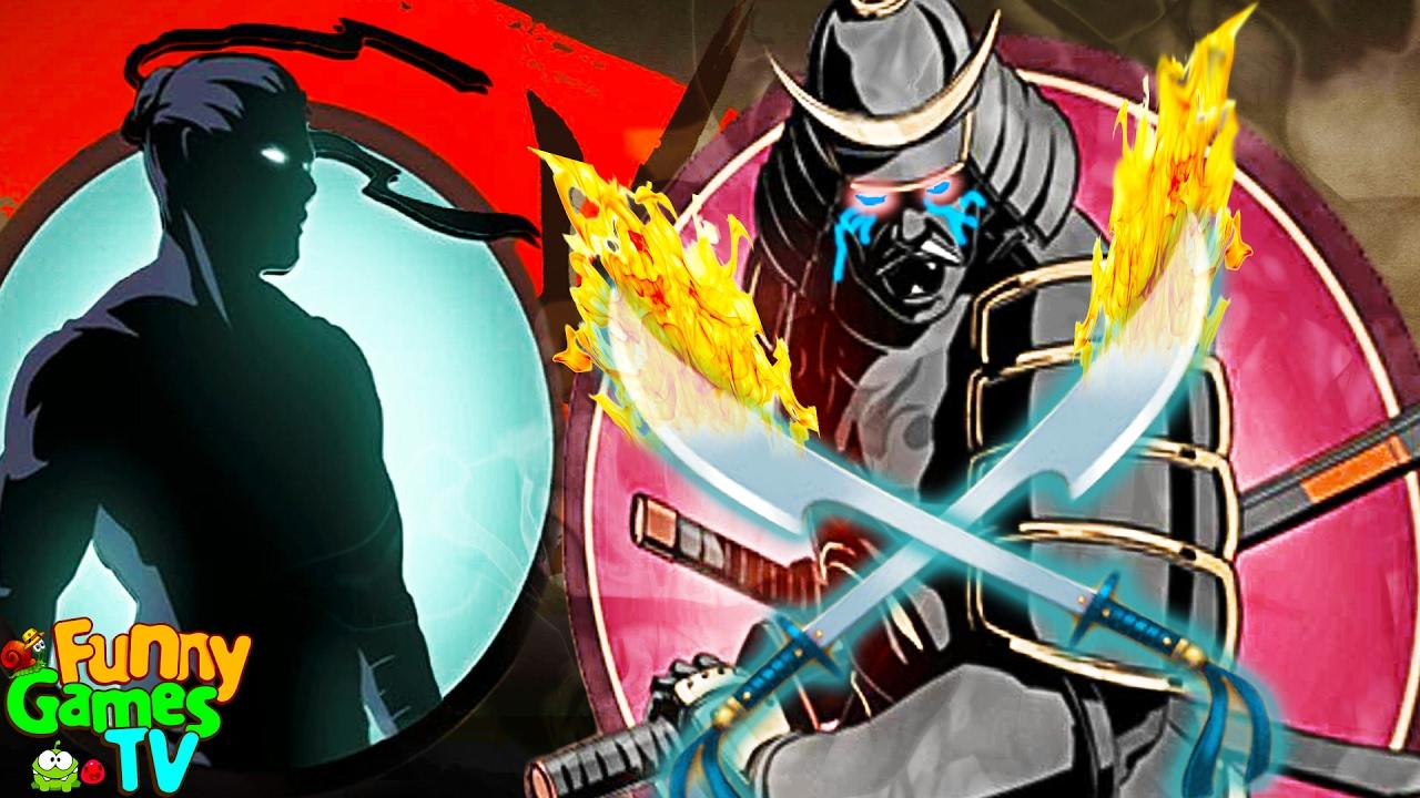 ДОРОГА К СЕГУНу ФИНАЛ мультик для детей игра Shadow Fight 2 бой с тенью