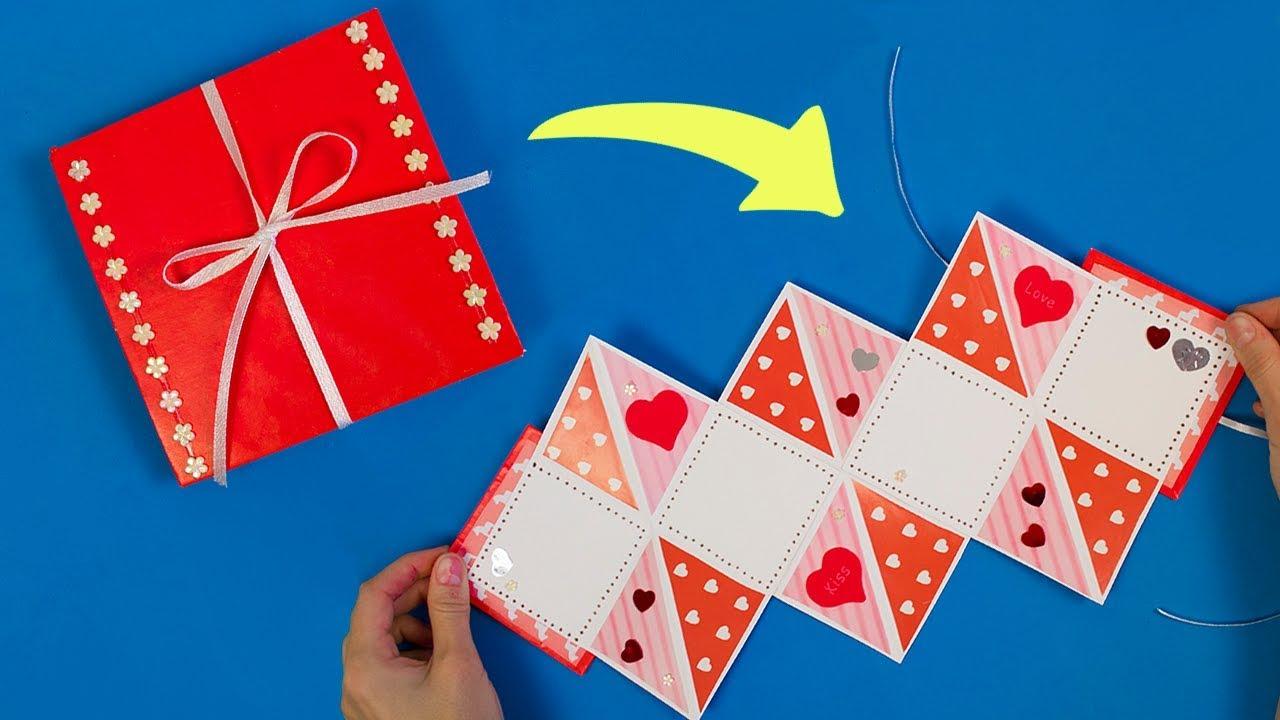 Как сделать открытку оригами на день рождения, открытки