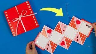 Открытка Своими Руками На Любой Праздник В Стиле Оригами!