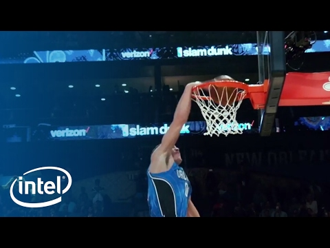 The Making of Aaron Gordon's Drone Dunk | NBA All-Star 2017 | Intel