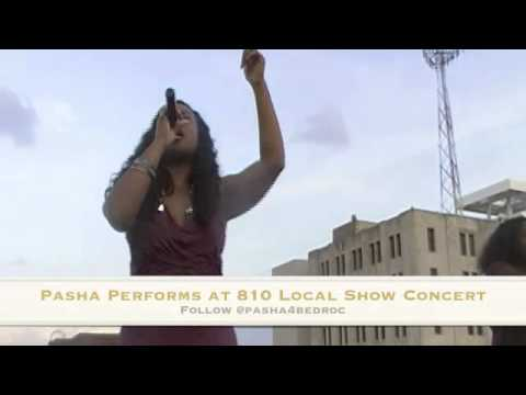 Pasha Opens for Kraeyshawn & Mann During 810 Local Flow Concert