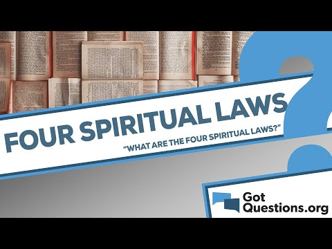 photograph relating to Four Spiritual Laws Printable titled What are the 4 non secular guidelines?
