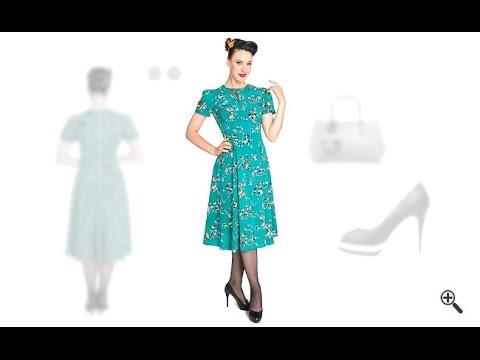 Kleid 60er stil kaufen