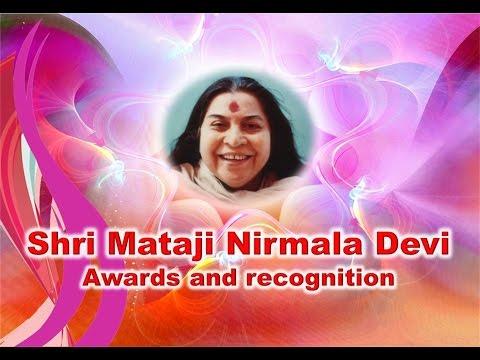 Shri Mataji - International Awards and Recognition