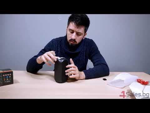 Bluetooth колонка с издръжлива батерия, FM радио, флашка, USB, Bluetooth J 29 8