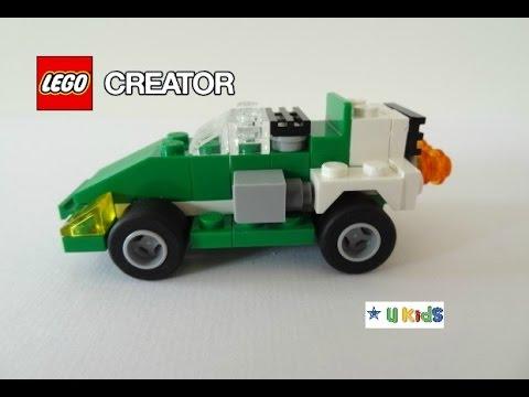 สอนต่อเลโก้รถแข่ง แบบที่ 2 (วิดีโอรีวิวของเล่น)