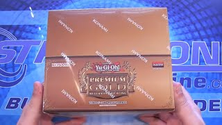 Yugioh Premium Gold 2 Return of the Bling Box Opening