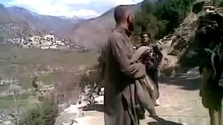 Brave captured Afghan soldier standing up to the Taliban