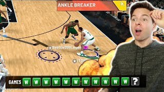 I Broke PINK DIAMOND Magic's Ankles! 12-0 CHAMPIONSHIP GAME! NBA 2K19 My Team