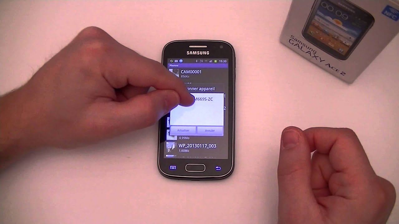 Samsung Galaxy ACE 2 Test