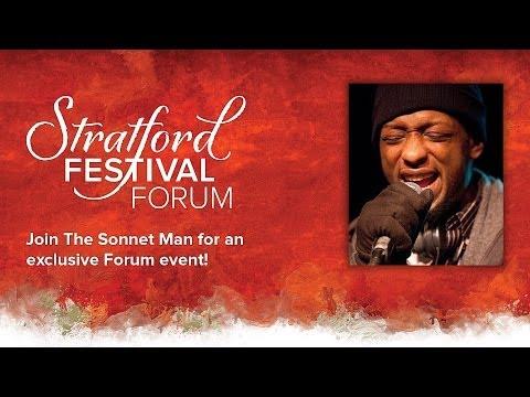 The Sonnet Man | The Forum | Stratford Festival 2014