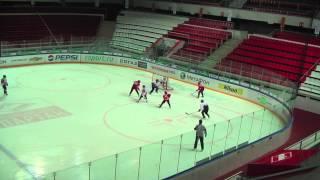 Товарищеская встреча Спартак 01-Снежные барсы 00
