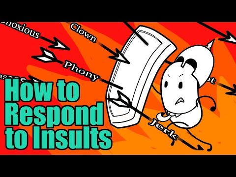How To Respond To Insults - Q&A Episode #1