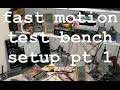 ACF 001: Office electronic test bench Part 1 time lapse / fast motion
