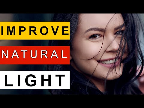 5 Tips To INSTANTLY IMPROVE Your NATURAL LIGHT Portrait Photos | Outdoor Photography