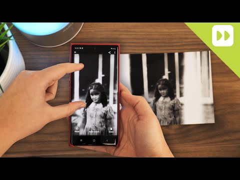How to Scan Old Photographs Using Only Your Android Smartphone