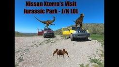 Nissan Xterras Off Road In Queen Valley AZ