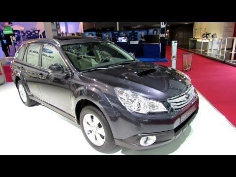 2013 Subaru Outback Diesel - Exterior and Interior Walkaround - 2012 Paris Auto Show