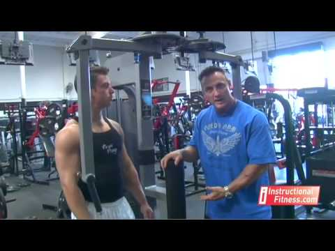 Instructional Fitness - Pec Decks