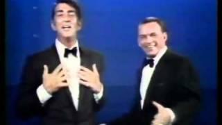 Frank Sinatra and Dean Martin funny live medley