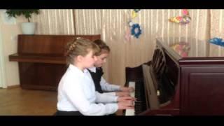 Тимофеева Варя, Тимофеева Алина П И  Чайковский Танец маленьких лебедей mpeg1video 001