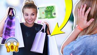 ICH 'KLAUE' meiner SCHWESTER 100€⁉️😰 Sie weiß nicht, was ich ihr kaufe!😳👙